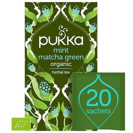 Herbata PUKKA Mint Matcha Green BIO