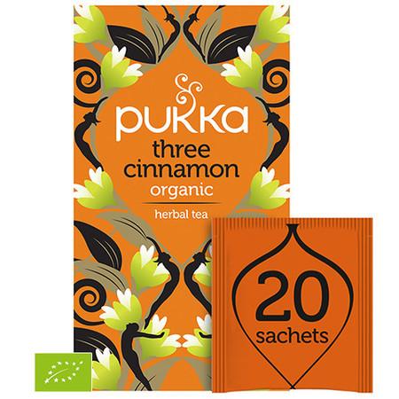 Ekologiczna Herbata PUKKA Three Cinnamon BIO
