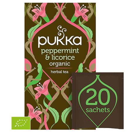 Ekologiczna Herbata PUKKA Peppermint & Licorice BIO
