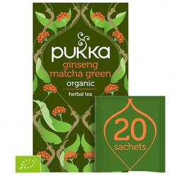 Naturalna Herbata PUKKA Lean Matcha Green BIO
