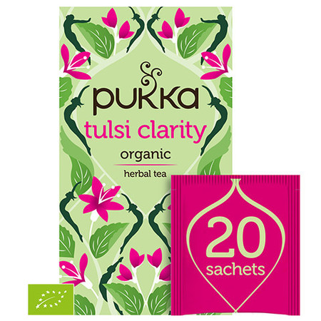 Ekologiczna Herbata PUKKA Tulsi Clarity BIO