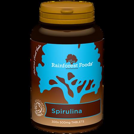 Ekologiczny suplement diety Rainforest Foods Spirulina BIO