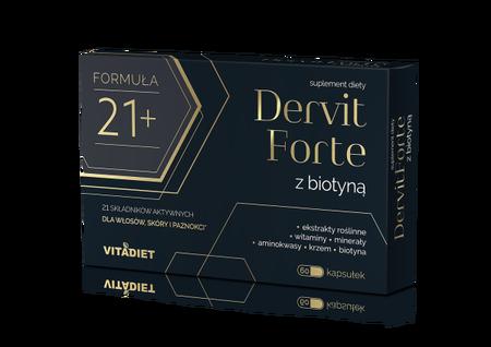 Devit Forte suplement diety wzmacniający włosy i paznokcie