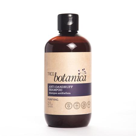 Szampon oczyszczający do skóry głowy z łupieżem  suchym i/lub tłustym (ANTI-DANDRUFF SHAMPOO) Trico Botanica.
