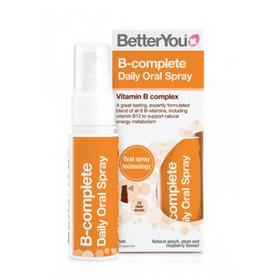 BetterYou  Witamina B Kompleks w sprayu suplement diety dostarczana bezpośrednio do krwioobiegu.