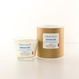Aroma-terapeutyczna Świeca BIOSENSUAL Zdrowy Sen