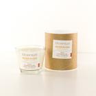 Biosensual Aroma-terapeutyczna Świeca SZCZĘŚCIA CZAS do masażu na bazie wosku sojowego i naturalnych olejków eterycznych.