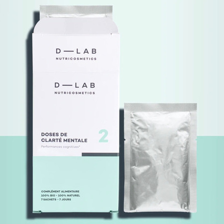 D-LAB Nutrikosmetyk Dawka Koncentracji, suplement diety poprawiający koncentrację i uwalniający pozytywną energię.