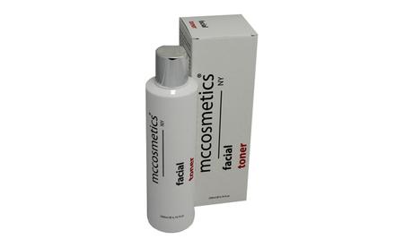 FACIAL TONER MCcosmetics Delikatny płyn tonizujący do każdego rodzaju skory, także nadwrażliwej.