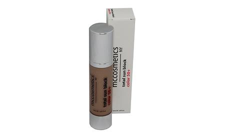 TOTAL SUN BLOCK COLOR SPF 50+ Krem przeciwsłoneczny z filtrem SPF 50+ dla każdego rodzaju skóry.