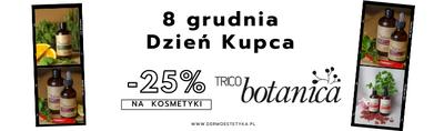 Z okazji Dnia Kupca promocja -25% na kosmetyki TricoBotanica
